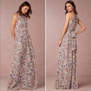 Donna Morgan BHLDN Alana floral maxi dress